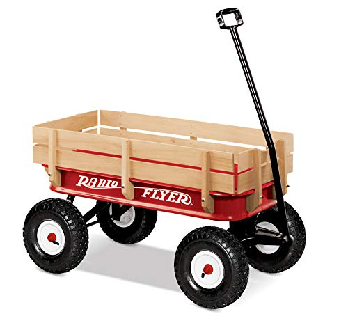 Radio Flyer 36 All-Terrain Steel & Wood Wagon