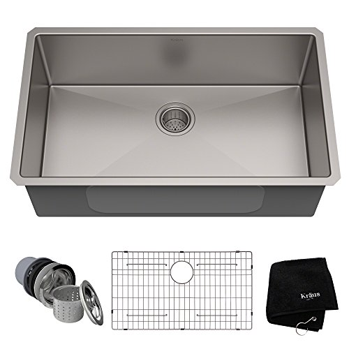 Kraus Standard PRO Single Bowl Commercial kitchen sinks
