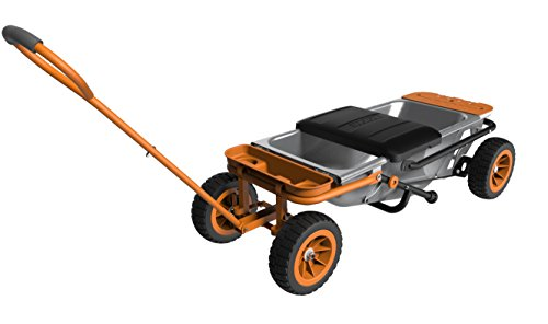 WORX Aerocart Multifunction Wheelbarrow, Dolly and Cart