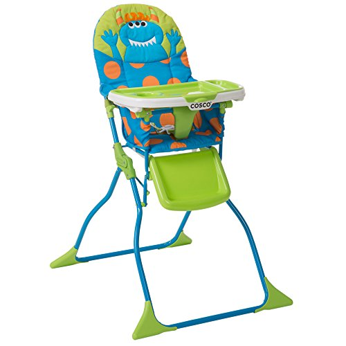 Cosco Simple Fold High Chair Deluxe Monster Shelley