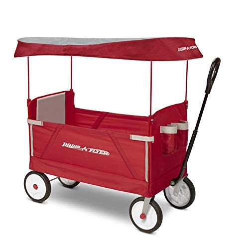 Radio Flyer 3951Z 3-In-1 Ez Folding Wagon