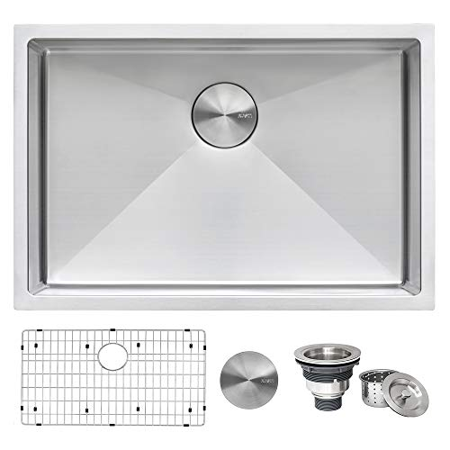 Ruvati Undermount Tight Radius Stainless Steel Commercial kitchen sinks