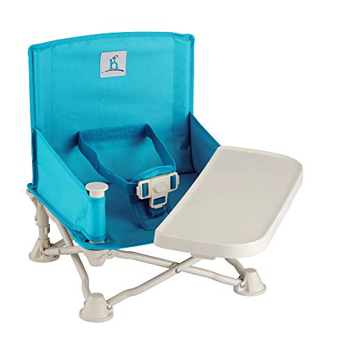 hiccapop Omniboost Seat Tray Baby Travel Booster Folding Chair Eating Portable High Camping