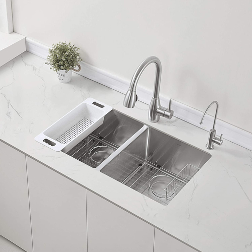 Best Double Kitchen Sinks and Low Divide Kitchen Sinks